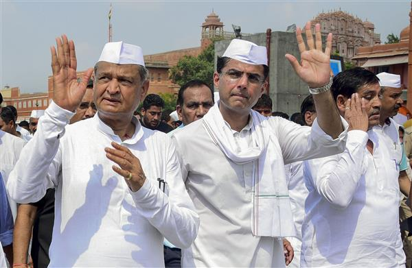 The political tug-of-war in Rajasthan