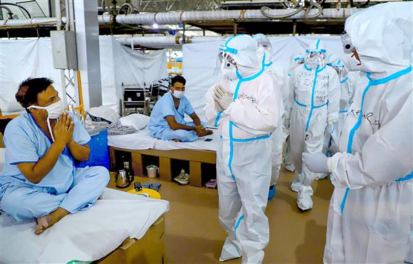 First patient discharged from Delhi's largest COVID care centre