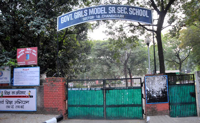 Five government schools in Chandigarh get cent per cent result