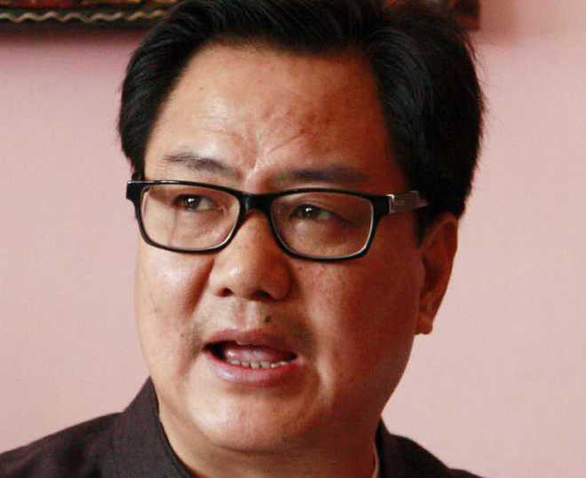 Hopeful India will organise sporting events in Sept-Oct: Rijiju