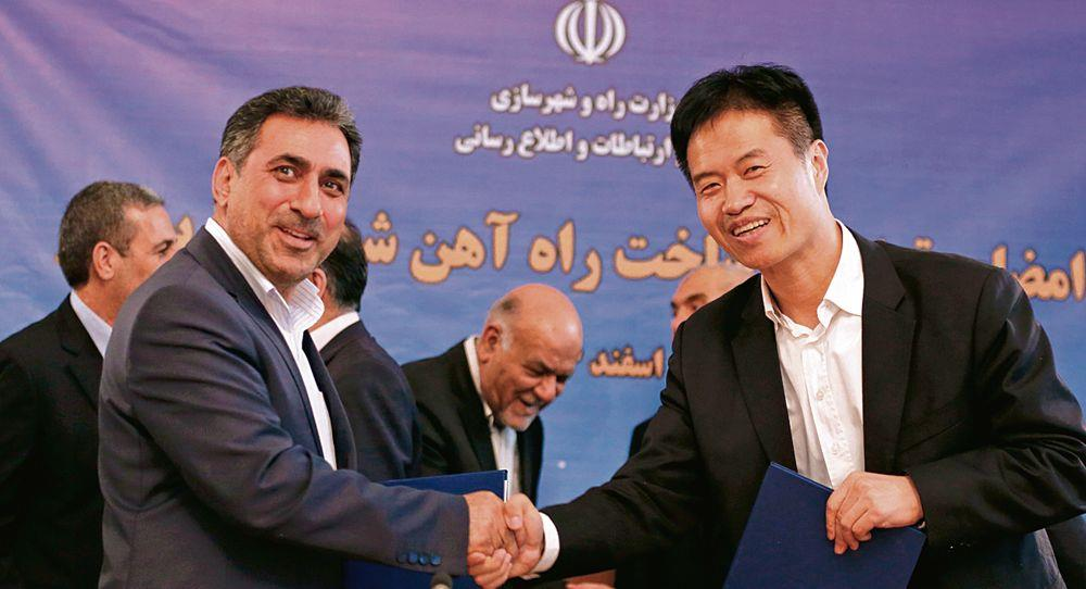 China-Iran tango should worry India