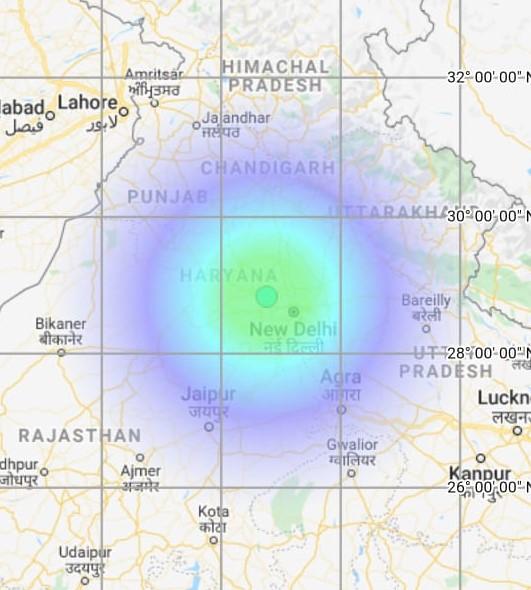 4.7-magnitude earthquake hits Alwar in Rajsthan; tremors jolt Delhi-NCR