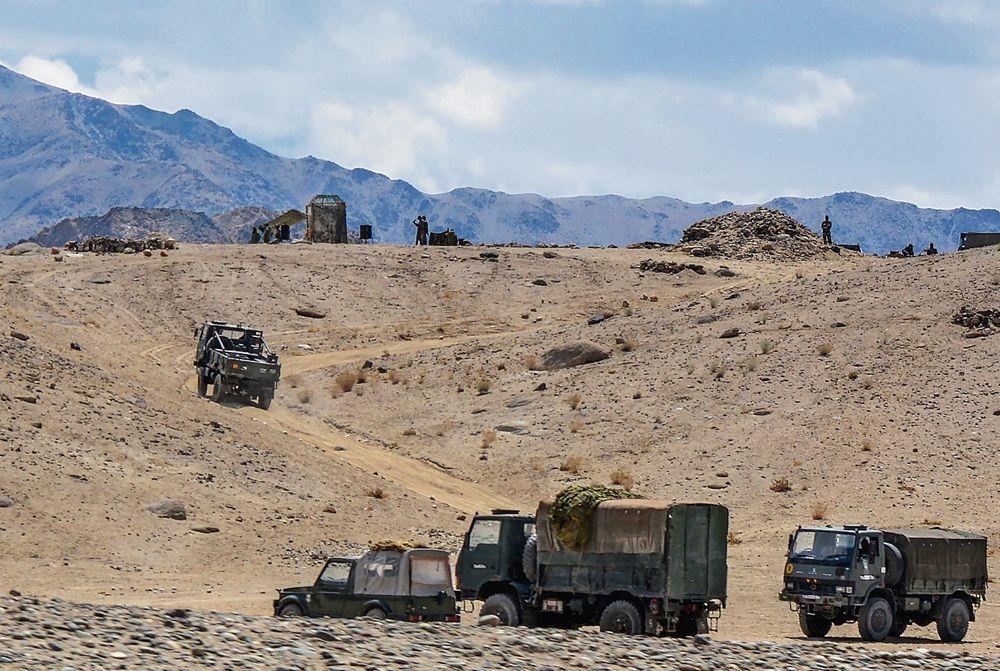 Providing logistics in Ladakh a test of mettle