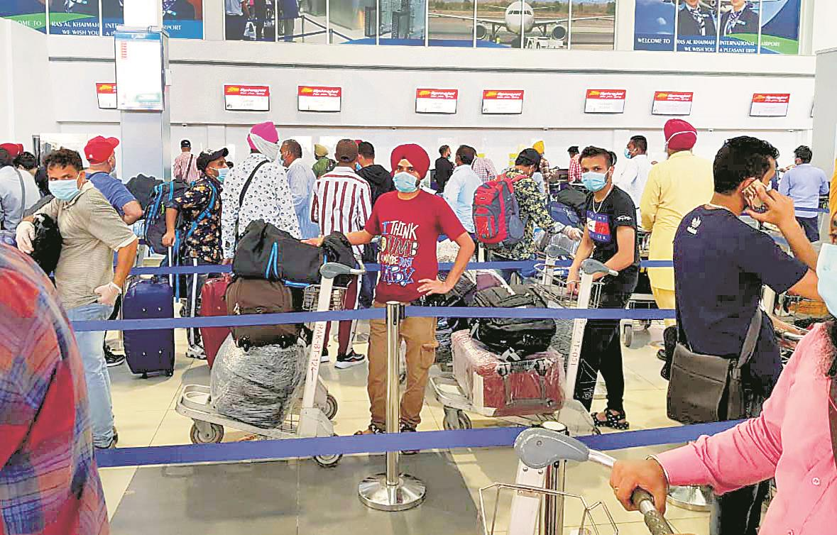 Given pink slips in Dubai, Gurdaspur boys back home
