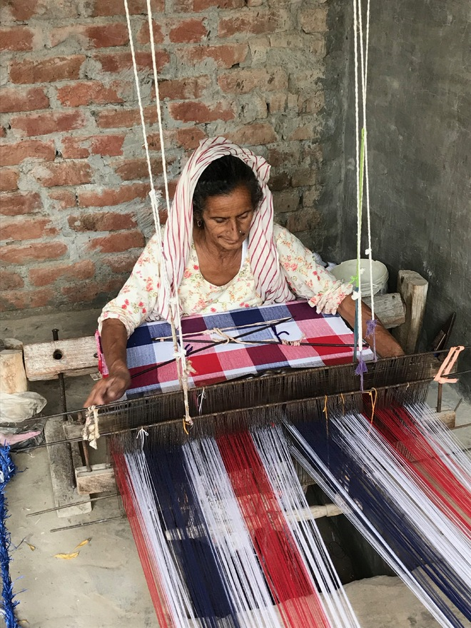 Weaving their own stories