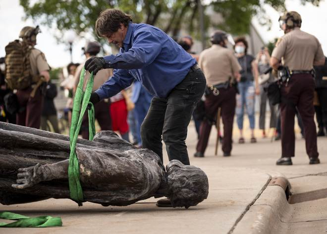 Monuments and statutes face the wrath of changing times