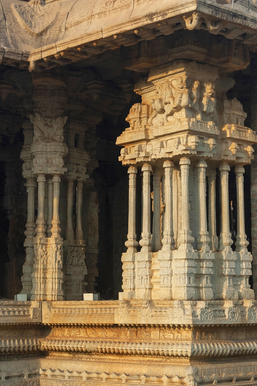 The Temple with Musical Pillars
