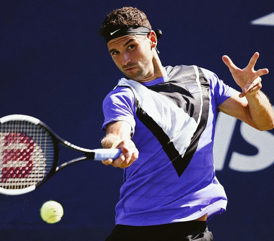 After COVID, Dimitrov wins in New York