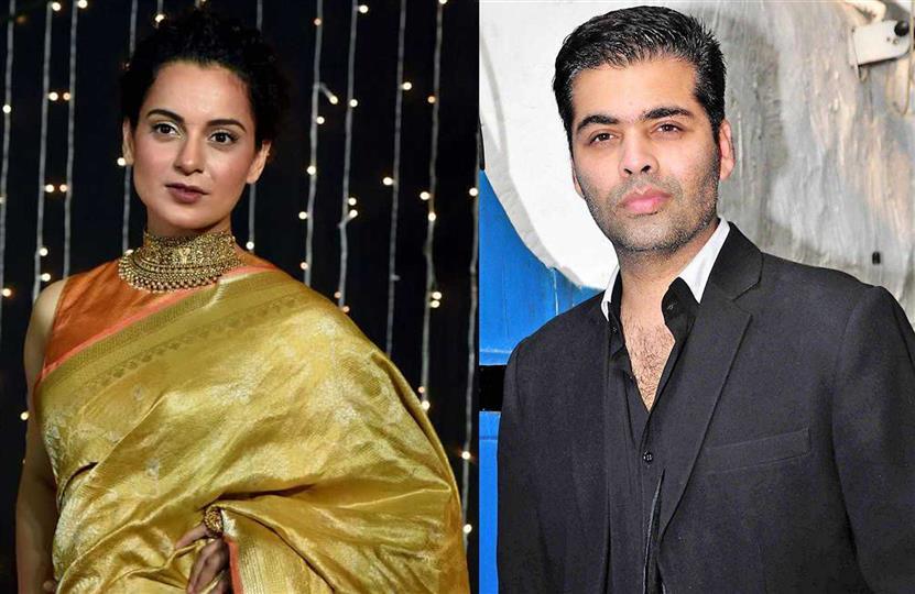 Kangana Ranaut slams Karan Johar for 'anti-national film' Gunjan Saxena; requests govt to take Padma Shri back