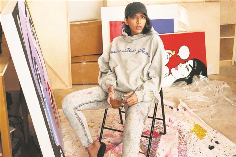 New York's Richard Taittinger Gallery brings Maria Qamar's feminist pop art to India