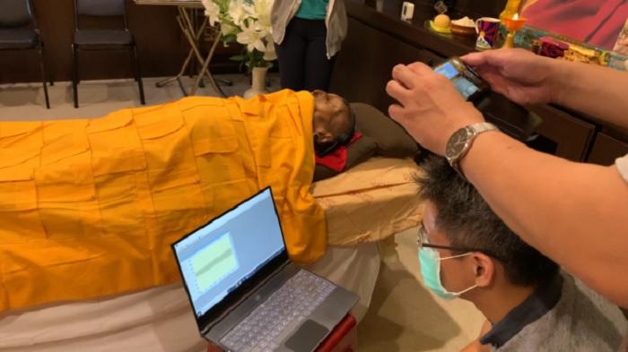Tibetan scholar in rare meditative state after death