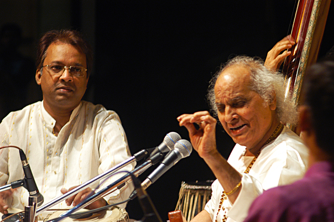 Tabla exponent Pt Nayan Ghosh remembers Pt Jasraj