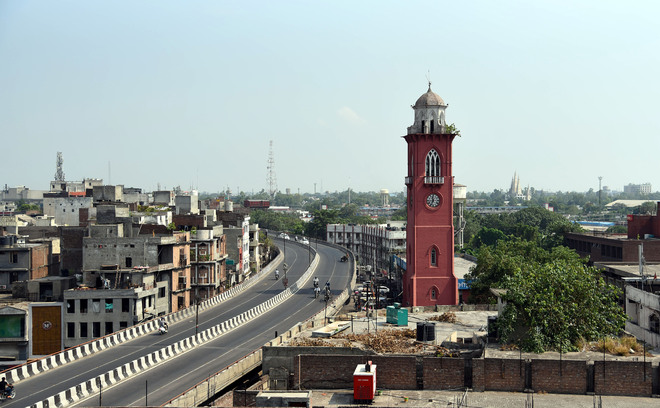 Ludhiana 34th in cities with above 10L people