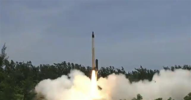 India successfully tests hypersonic missile