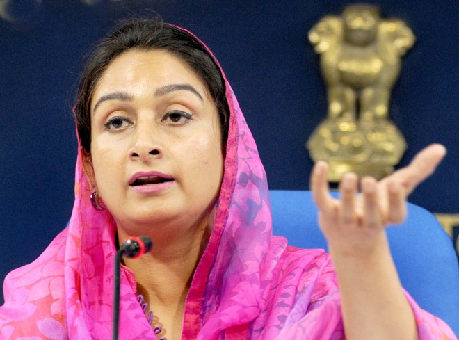 Harsimrat Badal resigns from Union Cabinet in protest against farm Bills