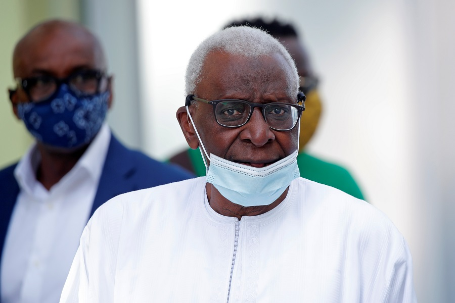 Former IAAF chief Lamine Diack sentenced to 2 years in prison