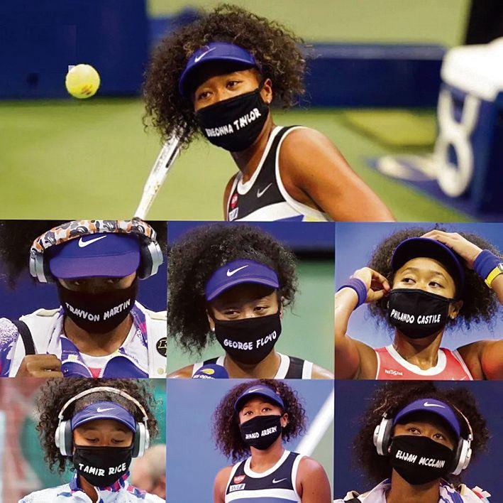 Masked Warrior Naomi Osaka