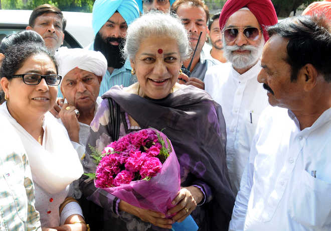 Youth Congress hails Ambika Soni's appointment