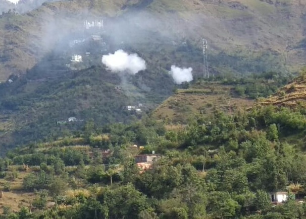 Pakistan targets forward areas in Rajouri, Poonch