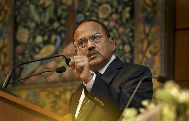 Doval walks out of SCO NSAs' meet over 'new' Pakistan map