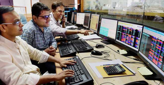 Sensex rises over 100 pts in early trade; Nifty above 11,450