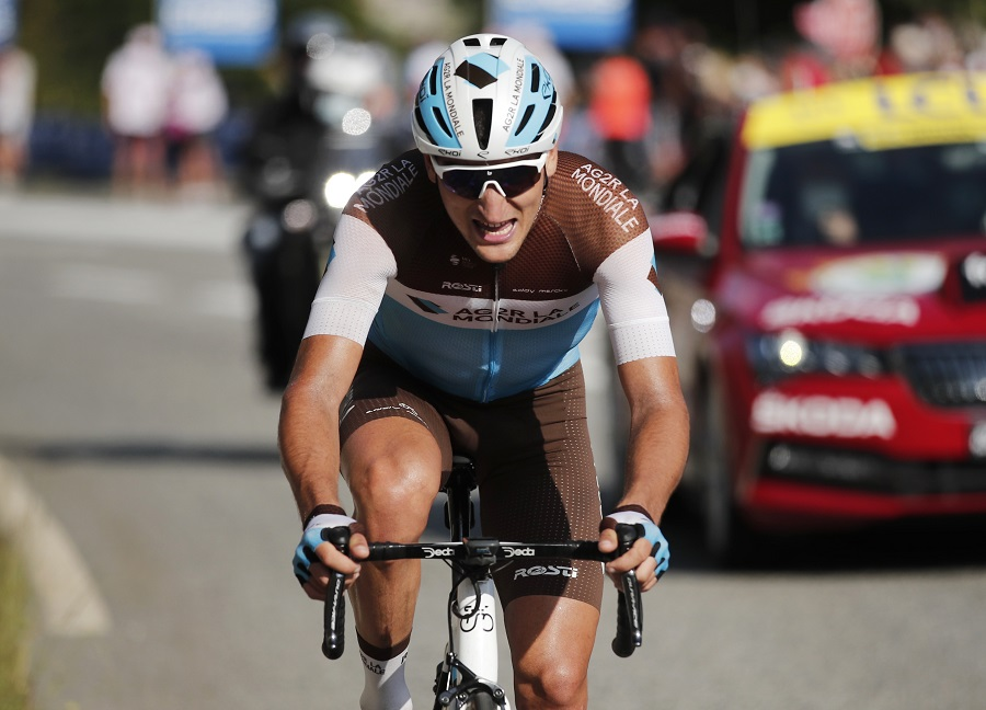 Tour de France: Peters wins Stage 8 in Pyrenees