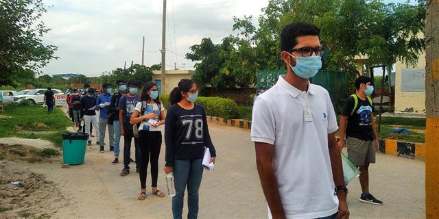 JEE Mains held amid stringent precautions