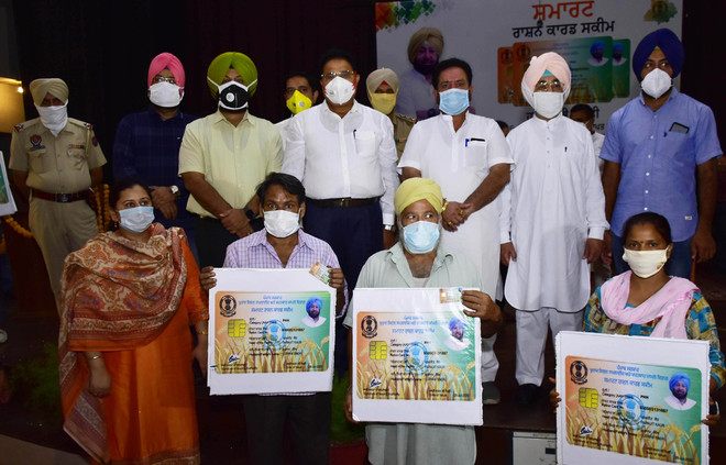 Smart Ration Card Scheme to cover 3.2 lakh beneficiaries in Amritsar