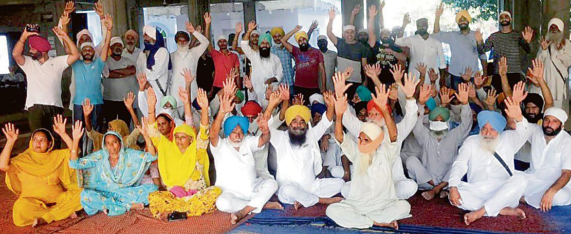 Day after formation of gurdwara committee, villagers protest