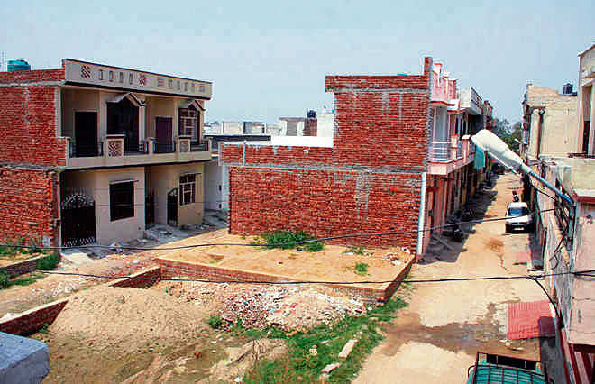 Illegal colony under civic body scanner