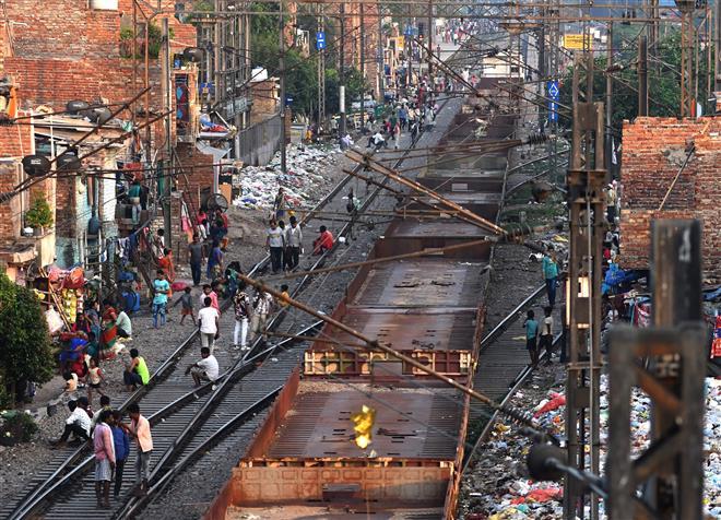 No demolition of slums along Delhi tracks, for now, Supreme Court told