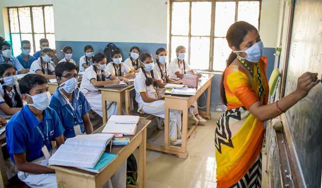 Two government schools to reopen after 6 months in Haryana : The Tribune  India