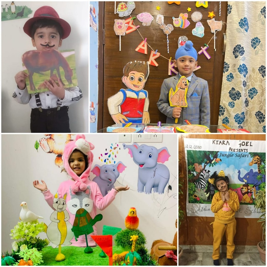 Children showcase their creativity