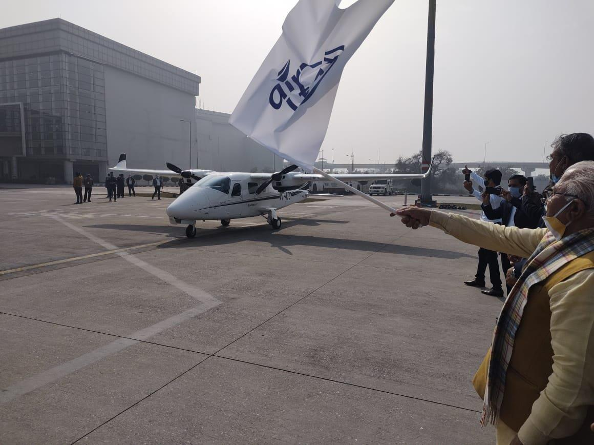 Aviation services launched between Chandigarh and Hisar