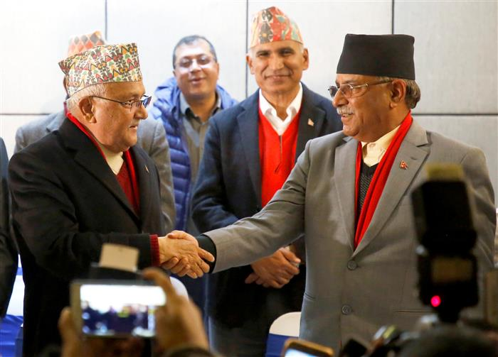 NCP's Prachanda-led faction expels Nepal PM Oli from party's general membership