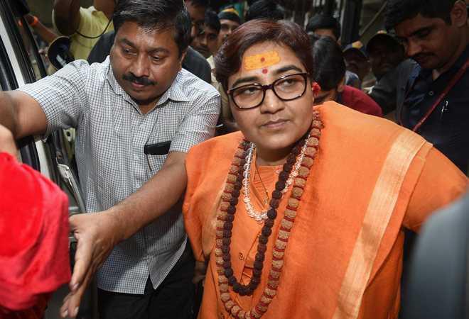Congress slams BJP MP Pragya Thakur for another Godse remark