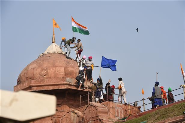 Police register case of sedition in connection with Red Fort incidents