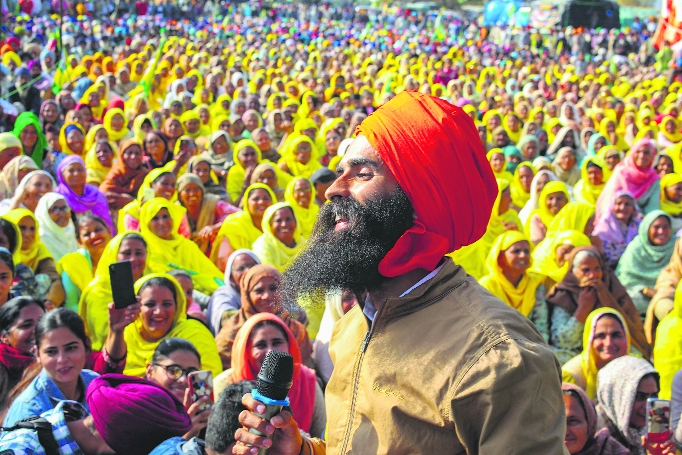 Rabbi Shergill says every protest movement has its songs