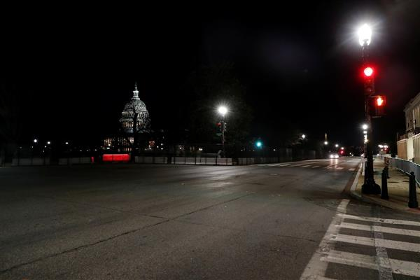 Expecting trouble, DC locks down a week before Biden's inauguration