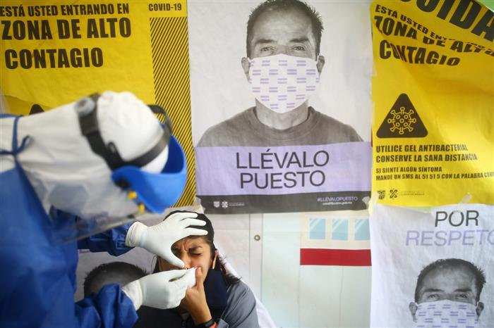 New coronavirus strain first seen in Britain confirmed in Mexico