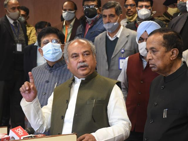 Govt wants farmer unions to form informal group to prepare concrete proposals: Tomar