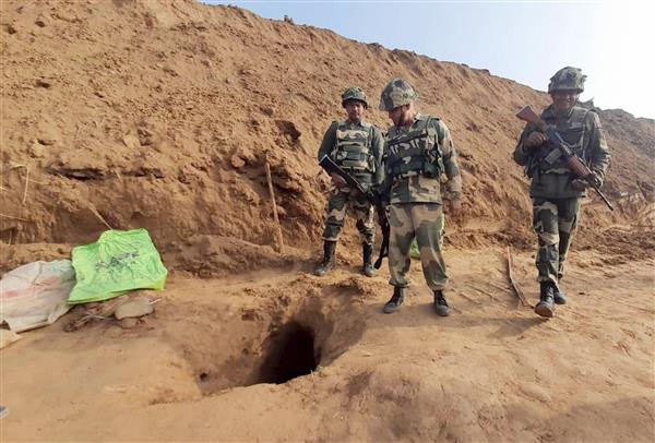 BSF detects 150-metre cross-border tunnel in Jammu and Kashmir's Kathua