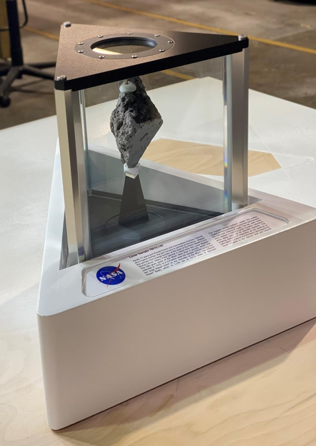 Moon rock now on display in Oval Office of White House - The Tribune
