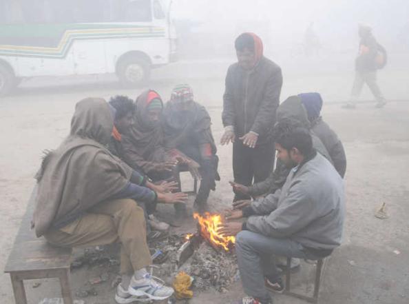 Cold wave sweeps Punjab, Haryana