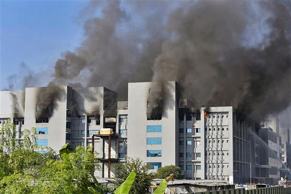 5 dead in Serum Institute fire; Covishield facility unaffected