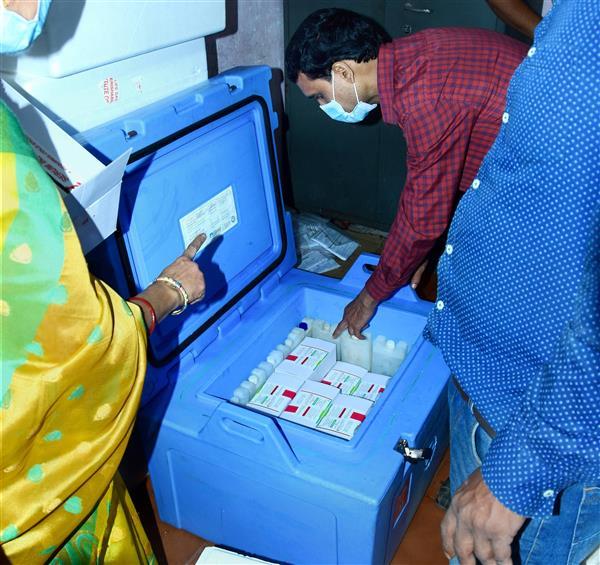 Vaccine drive accelerates, doses reach far corners of India