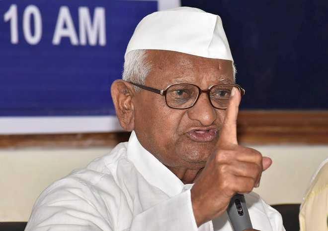 Anna Hazare calls off his proposed fast against farm laws