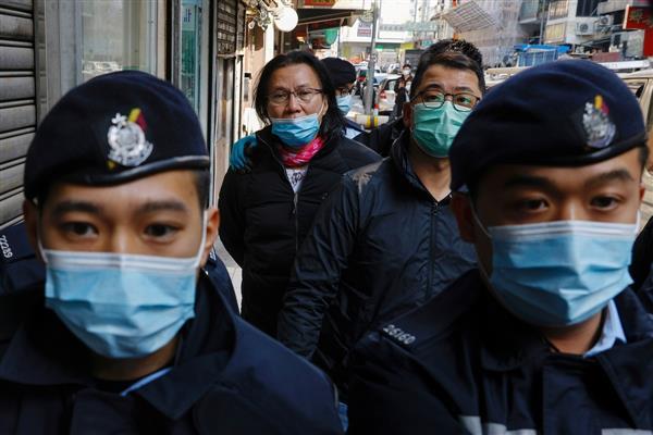 Hong Kong police arrest 11 on suspicion of aiding activists' escape attempt, says media