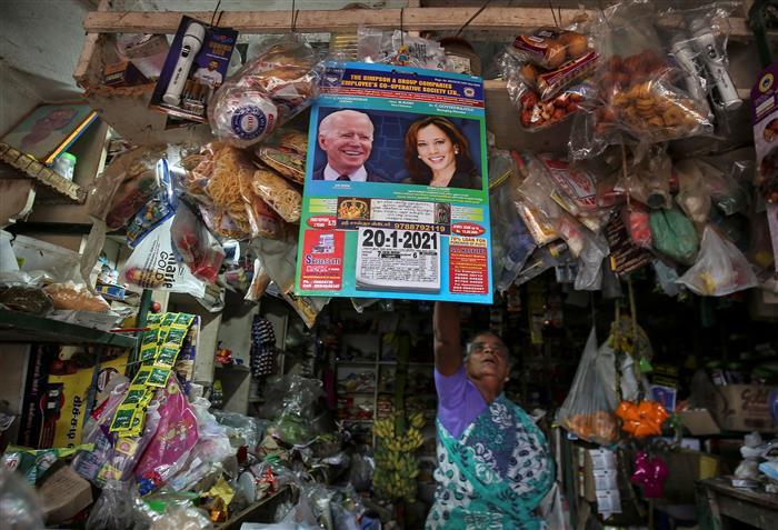 Tamil Nadu villagers celebrate inauguration of Kamala Harris with prayers, firecrackers, food