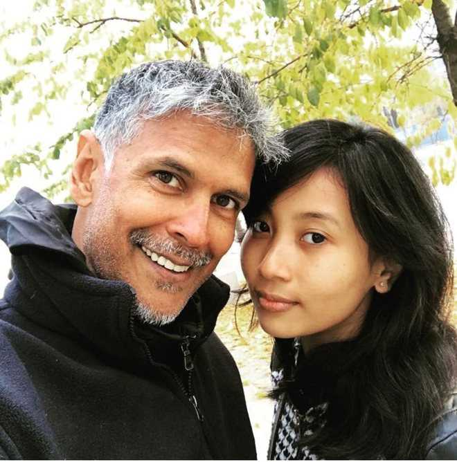 Milind Soman's asked if chances of cheating on much younger wife are less; here's his unmissable reply